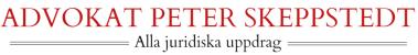 Advokat Peter Skeppstedt